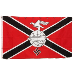 German Nazi Zeppelin Corps Flag, Historical Flag with Swastika