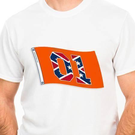 01 Rebel General Lee Tshirt (2XL)