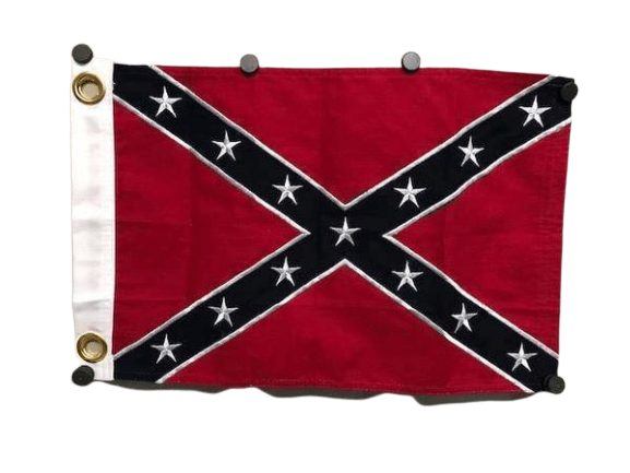 RU Flag 12 x 18 inch With Grommets Rebel Cotton Flag