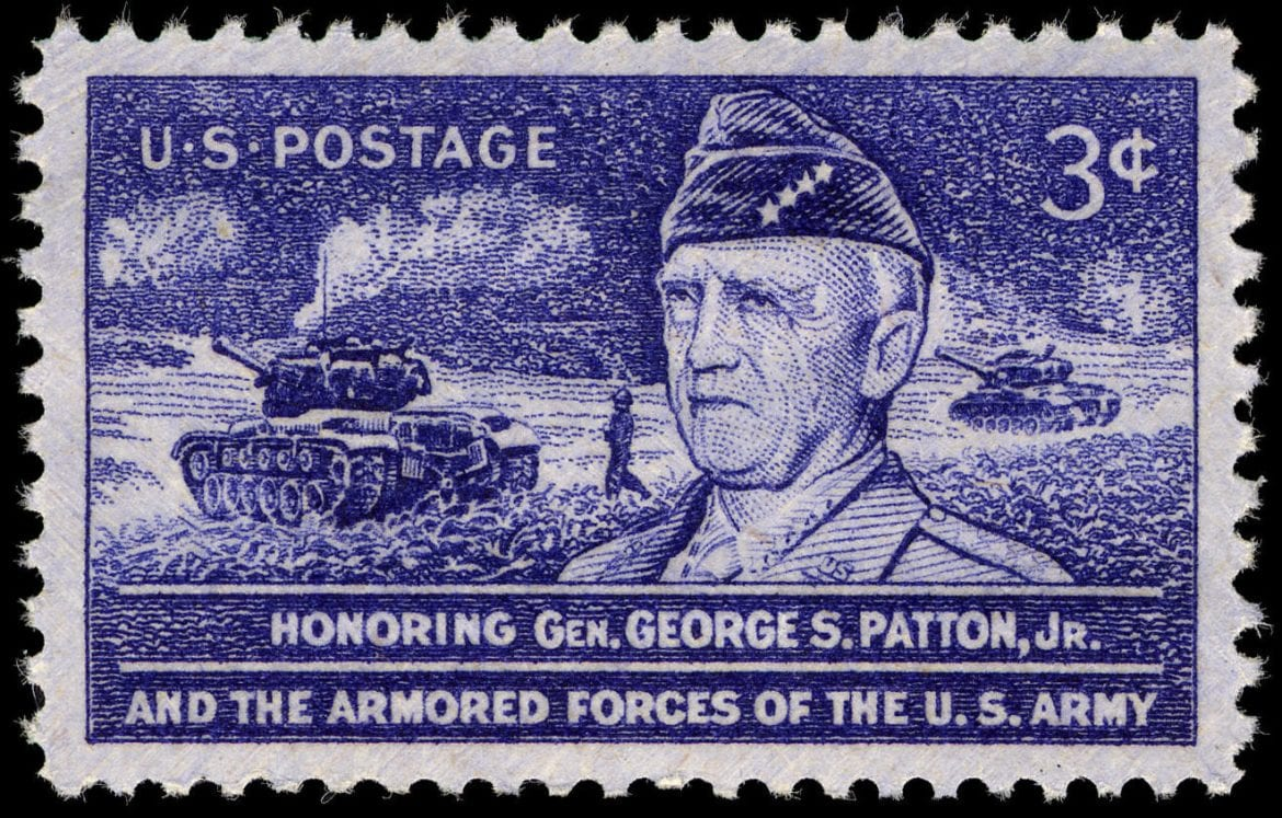 General Patton Postage Stamp